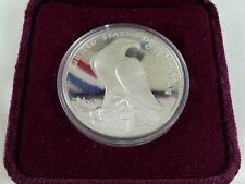 COFFRET PIÈCE MONNAIE UN DOLLAR EN ARGENT MASSIF JEUX OLYMPIQUES USA 1984