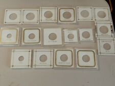 Nice Lot of (17) Individual Coin Capital Plastic Holders