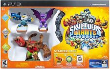 PS3 SIMULATION SKYLANDERS GIANTS STARTER PACK PS3 NEW JetVac Cynder Tree Rex