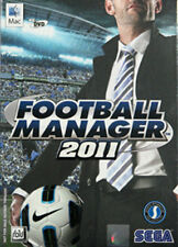 ** FOOTBALL MANAGER 2011 ** PC / MAC DVD GAME * Soccer FM 11 Brand new Sealed **