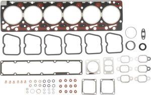 Engine Cylinder Head Gasket Set-VIN: D, 12 Valves Mahle HS4068