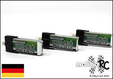 3x Turnigy nano-tech 300mah 1S 35C NEU Lipo Akku 3,7V - Blade mCPx