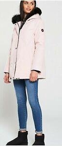 Ugg Bernice Parka Coat  - Pink Size Small