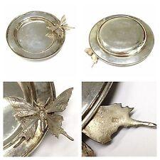Silberteller 900er Silber Teller Silberschmetterling 800er Silber Schmetterling