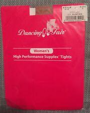 Size A Tights T Suntan Dancing Fair Women's High Performance Supplex Tights NEW