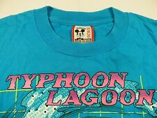 T158 Official DISNEY TYPHOON LAGOON surf t shirt size XL, excellent condition!