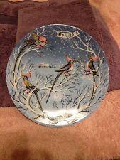 The Twelve Days of Christmas Original Plates Four Coly Birds Remy Hetreau