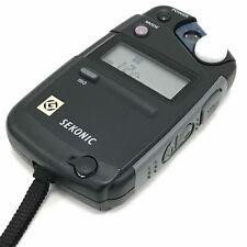 SEKONIC Black L-308B II 'Flashmate' Digital Exposure Light Meter Handheld 071093