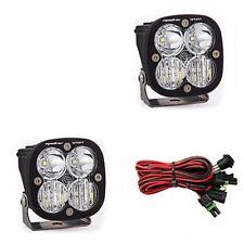 Baja Designs Squadron Sport Pair ATV LED Light Driving Combo Pattern