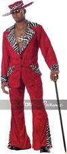 California Costumes Red Pimp XL