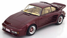 1986 Porsche 911 Turbo Gemballa Dark Red Metallic By BoS Models LE of 504 1/18