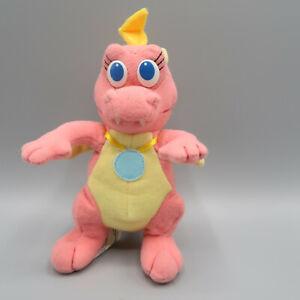 Dragon Tales Plush Cassie Soft Toy Vintage 1999 Pink Playskool Dragon Cartoon