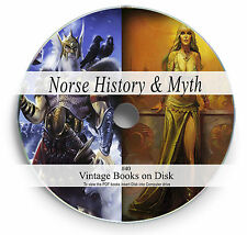Rare Books on DVD Norse Viking Legend Mythology Gods Thor Odin Valhalla Runes 40