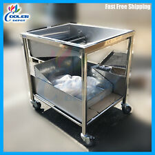"""Donuts Glazing Table Includes Glazing Dipper Cooling Racks Size 34"""" x 38"""" x 36"""""""