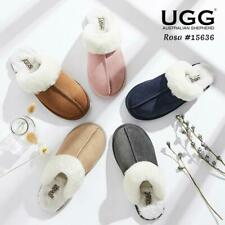 UGG Unisex Slippers/Scuffs Rosa Premium Australian Sheepskin lining insole