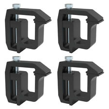 Truck Cap Topper Shell Mounting Clamps Heavy Duty 4 Piece Kit Camper TL2002