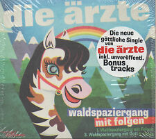 Die Ärzte - Waldspaziergang mit Folgen CD NEU inkl. unveröffentl. Bonus tracks