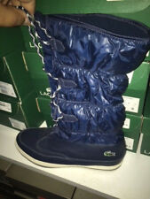 Womens Lacoste TUILERIE PS SPW DK BLU/OFF TEXT Stiefel Ski Winter Boot Gr:41