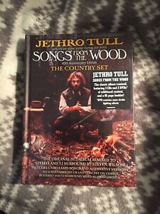 JETHRO TULL Songs from the Wood 40th Anniversary Edition 3CD 2DVD SEALED