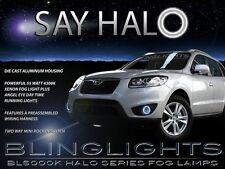 Halo Fog Lamps Driving Light Kit for 2010 2011 2012 Hyundai Santa Fe