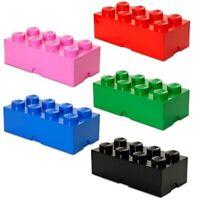 Gigante Lego Magazzinaggio Mattone 8 Mattoncini di Costruzione Regalo Bambini