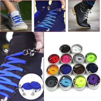 1Pair of Perfect One Hand No Tie Laziness Shoelace Laces Elastic Convenient CH