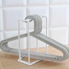 Practical Plastic  Clothes Hanger Storage Home Organizer Companion Rack Tool