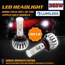 2017 PHILIPS  25200LM 252W LED Headlight Kit 9012 6000K White CANBUS Error Free
