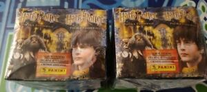 Two Panini Sealed Boxes 2001 Harry Potter and the Philosopher's Stone