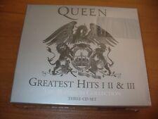 BOX 3 CD QUEEN GREATEST HITS 1-2-3 THE PLATINUM COLLECTION SIGILLATO SEALED RARE