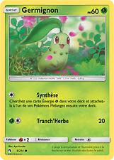 Pokemon - Germignon X4 - Commune - SL8 - 5/214 - VF Français