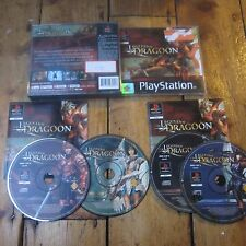 Legend of Dragoon Sony PlayStation 1 PS1 Game Black Label Complete PAL Free Post