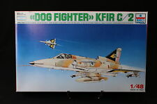 YA027 ESCI 1/48 maquette avion 4007 Dog Fighter KFIR C/2 Israel