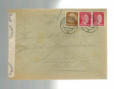1944 Germany Ravensbruck Concentration Camp Cover KZ to Holand w/letter
