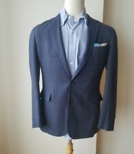 NWT $1995 MADE IN ITALY RALPH LAUREN PURPLE LABEL JACKET BLUE 42R FREE SHIPPING
