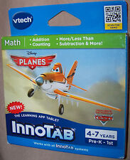 NEW Disney Planes Interactive Vtech READING Game for Innotab Tablets age 4-7
