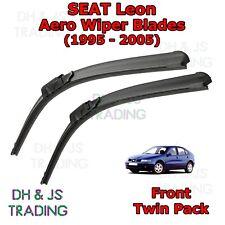 (99-05) Seat Leon Aero Wiper Blades / Front Windscreen Flat Blade Wipers MK1