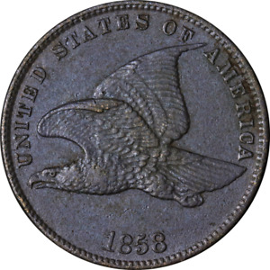 1858 SL Flying Eagle Cent Great Deals From The Executive Coin Company