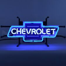 "Chevrolet Bowtie Junior Light Car Garage Licensed Neon Sign 17"" by 7"" 5Smlcv"