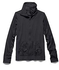 Under Armour Studio Lux Essential Full Zip Black Jacket L Womens $75 FreeShip