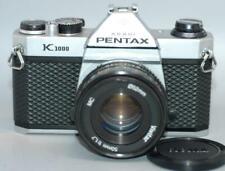 Pentax K1000 Special Edition film camera w Vivitar 50mm f1.7 lens - Nice Ex++!