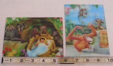 WALT DISNEY'S JUNGLE BOOK 3-D VARI VUE FLICKER POST CARD