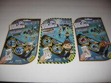 Set of 3 New Go Sumos Re 00006000 Mote Control Stickers * Grobots * Ar-Sea * Smile Inc