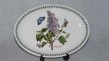 Portmeirion England Botanic Garden Platte 27 cm oval Ofenfest Syringa Vulgaris