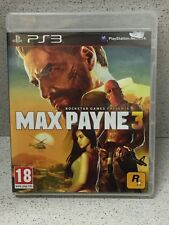 MAX PAYNE 3  PS3 AVEC NOTICE PLAYSTATION