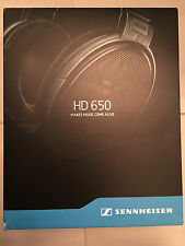 sennheiser hd 650 - immaculate condition, hardly used!