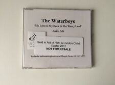 The Waterboys - My Love Is My Rock In The Weary Land - Promo CD