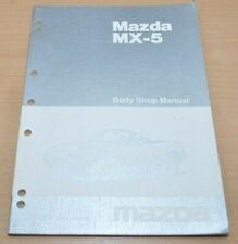 MAZDA MX5 MX-5 Sealing Panel Replacement Body Shop Manual 1989 Werkstatthandbuch