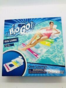 H2O GO Bestway Air Kool Lounge Chair Mat  Pool Water Float Toy