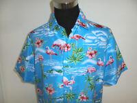 vintage SSLR Hawaii Hemd hawaiihemd surf surfer aloha shirt 90s surf Gr. XL